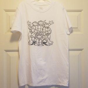 Handcrafted Ninja Turtles shirt